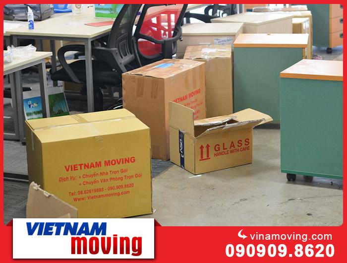 Hướng dẫn phân loại rác khi vận chuyển văn phòng công ty 1