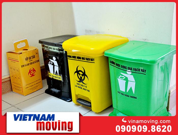 Hướng dẫn phân loại rác khi vận chuyển văn phòng công ty