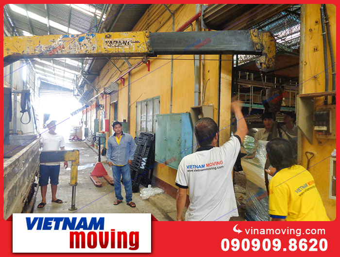 Vinamoving Chuyển nhà xưởng, kho xưởng tại Khu công nghiệp Tân Bình