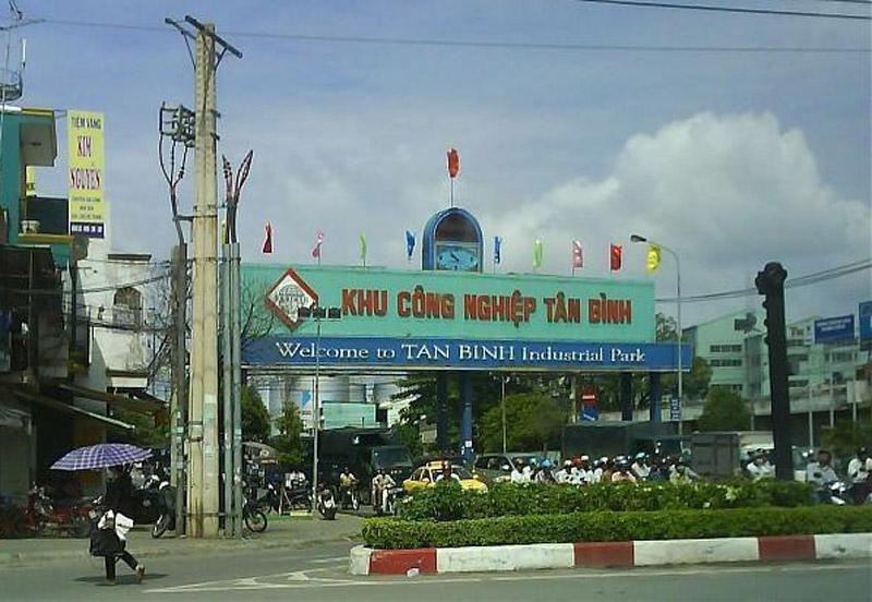 Chuyển nhà xưởng, kho xưởng tại Khu công nghiệp Tân Bình