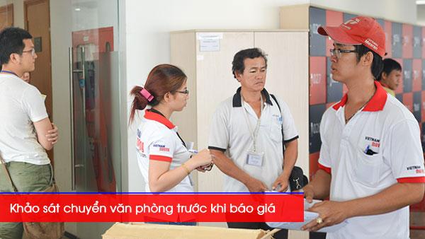 Dịch vụ chuyển văn phòng tại Vietnam Moving - Khảo sát vận chuyển
