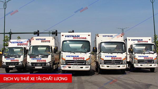 Vietnam Moving (Vinamoving) cho thuê xe tải chở hàng giá rẻ Số 1 Việt Nam