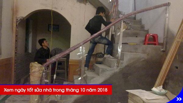 Xem ngày tốt sửa nhà trong tháng 10 năm 2018, Phương pháp chọn ngày tốt tháng 10/2018