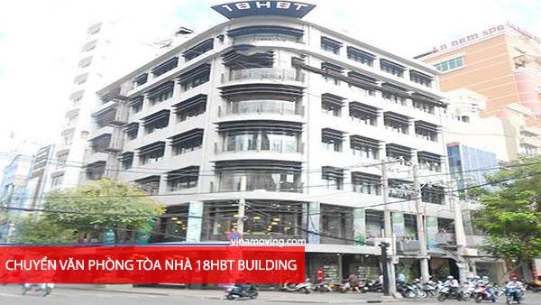 Chuyển văn phòng tòa nhà 18HBT BUILDING - Hai Bà Trưng, Quận 1