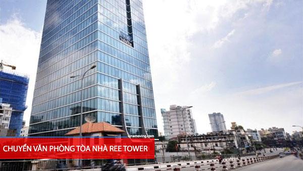 Chuyển văn phòng tòa nhà REE TOWER - Đoàn Văn Bơ, Quận 4