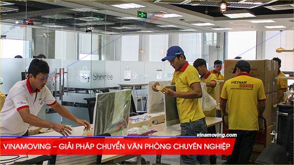 Vietnam Moving(Vinamoving) – giải pháp chuyển văn phòng ưu việt cho mọi doanh nghiệp