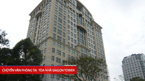 Chuyển văn phòng tòa nhà SAIGON TOWER-Lê Duẩn, Quận 1, TPHCM