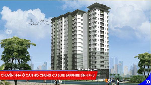 Chuyển nhà ở căn hộ chung cư Blue Sapphire Bình Phú - Quận 6, TPHCM