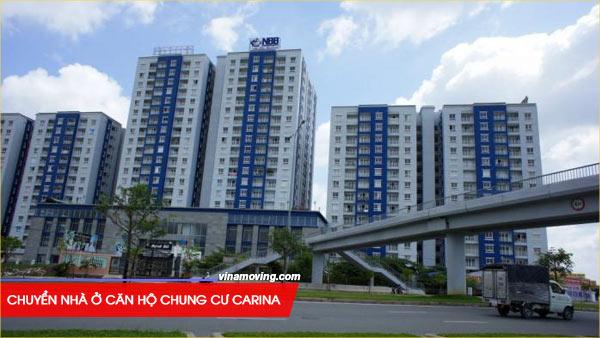 Dịch vụ chuyển nhà ở căn hộ chung cư Carina – quận 8, TPHCM