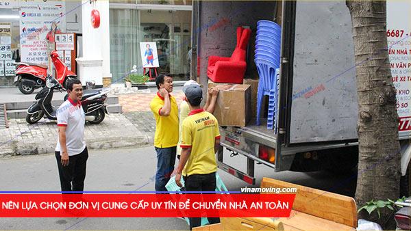 Chuyển nhà ở căn hộ chung cư Khu căn hộ Bình Phú - Quận 6, TPHCM, Nên lựa chọn đơn vị cung cấp uy tín để chuyển nhà an toàn, tiết kiệm nhất