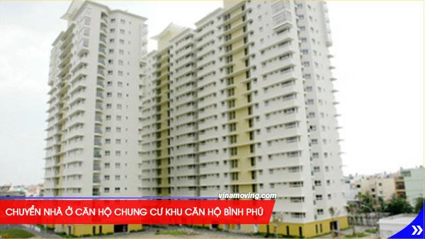 Chuyển nhà ở căn hộ chung cư Khu căn hộ Bình Phú - Quận 6, TPHCM