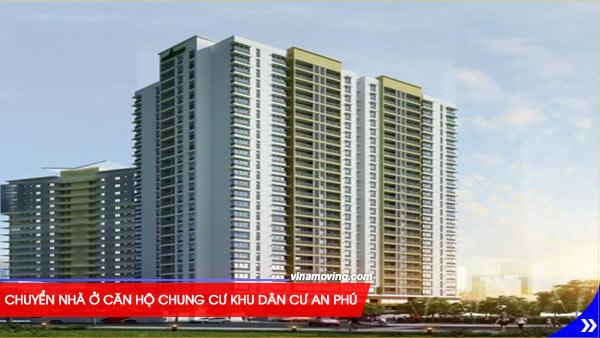 Chuyển nhà ở căn hộ chung cư Khu dân cư An Phú - Quận 6, TPHCM