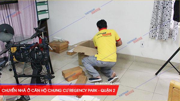 Chuyển nhà ở căn hộ chung cư Regency Park - quận 2, TP Hồ Chí Minh, Vinamoving sẵn sàng đồng hành cùng chủ nhà trong quá trình chuyển nhà ở căn hộ chung cư Regency Park - quận 2.