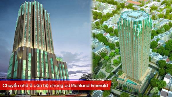 Chuyển nhà ở căn hộ chung cư Richland Emerald - Quận 6, TP Hồ Chí Minh