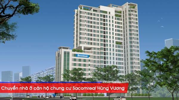 Chuyển nhà ở căn hộ chung cư Sacomreal Hùng Vương - Quận 6, TP Hồ Chí Minh