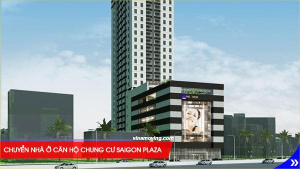 Chuyển nhà ở căn hộ chung cư Saigon Plaza - quận 1, TPHCM, Chung cư Saigon Plaza là địa điểm đến tuyệt vời cho các hộ gia đình