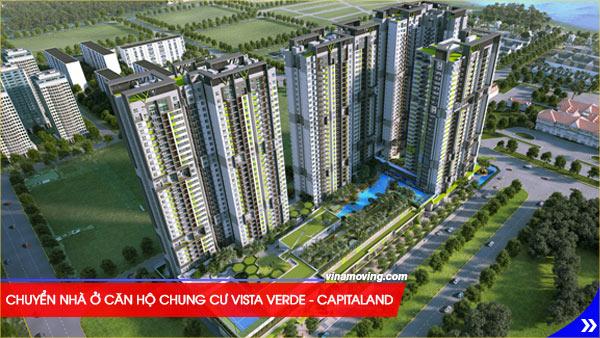 Chuyển nhà ở căn hộ chung cư Vista Verde - Capitaland - quận 2, TPHCM, Dịch vụ chuyển nhà tiện lợi như chính căn hộ bạn sắp chuyển đến