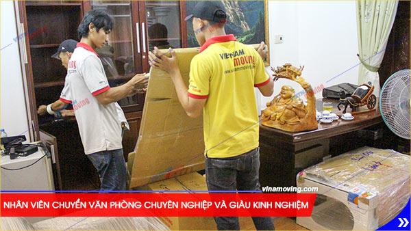 Chuyển văn phòng trọn gói tại Quận Long Biên, TP Hà Nội, Nhân viên chuyển văn phòng chuyên nghiệp và giàu kinh nghiệm