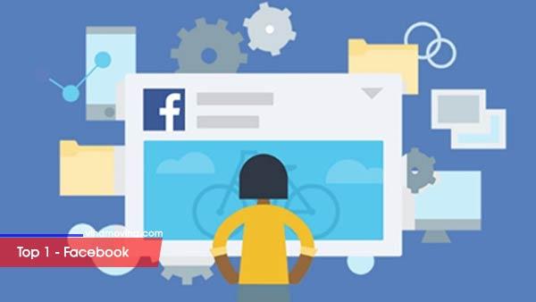 Top 10 trang mạng xã hội được nhiều người sử dụng nhất - Top 1 Facebook