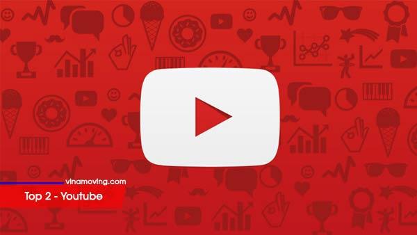 Top 10 trang mạng xã hội được nhiều người sử dụng nhất - Top 2 Youtube