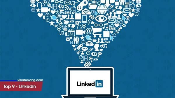 Top 10 trang mạng xã hội được nhiều người sử dụng nhất - Top 9 Linkedin