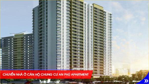 Chuyển nhà ở căn hộ chung cư An Phú Apartment - Quận 6, TPHCM