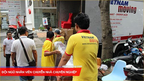 Chuyển nhà ở căn hộ chung cư Galaxy 9 - Quận 4, TP Hồ Chí Minh, Việc chuyển nhà cần đến bàn tay của những chuyên gia lành nghề với kinh nghiệm dày dạn