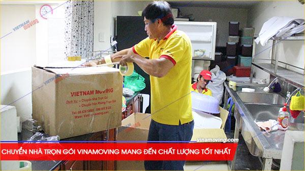 Chuyển nhà trọn gói Vietnam Moving (Vinamoving) cam kết mang đến chất lượng dịch vụ tốt nhất