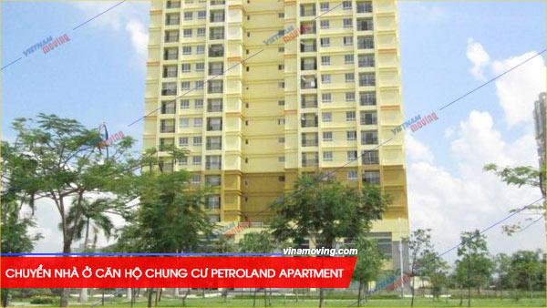Chuyển nhà ở căn hộ chung cư Petroland Apartment - Quận 2
