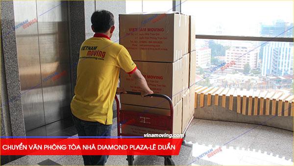 Chuyển văn phòng tòa nhà Diamond Plaza-Lê Duẩn, Quận 1, Vinamoving đơn vị vận chuyển văn phòng uy tín, chất lượng