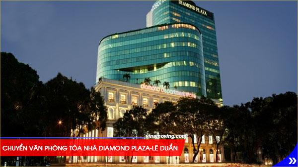 Chuyển văn phòng tòa nhà Diamond Plaza-Lê Duẩn, Quận 1, Tòa nhà Diamond Plaza cho thuê văn phòng đẹp giá rẻ