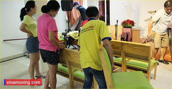 Khách hàng tin tưởng khi sử dụng dịch vụ chuyển nhà Vinamoving