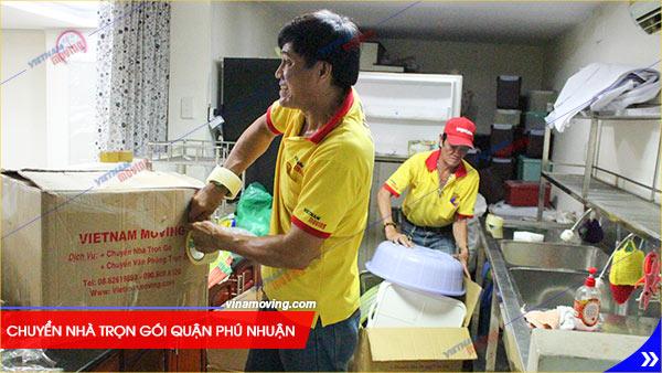 Cung cấp dịch vụ chuyển nhà trọn gói quận Phú Nhuận giá rẻ uy tín