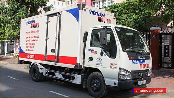 Dịch vụ cho thuê xe tải quận 4 giá rẻ 1