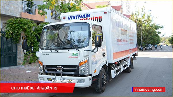 Dịch vụ cho thuê xe tải quận 12 giá rẻ chuyên nghiệp