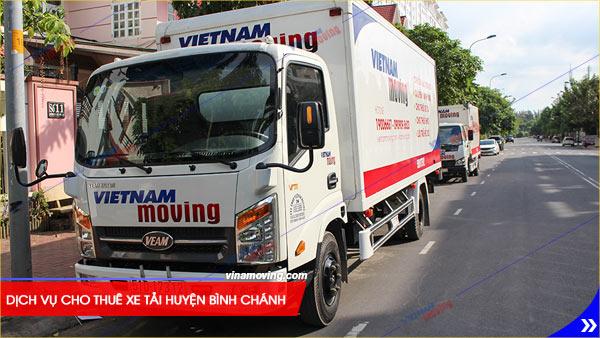 Cho thuê xe tải huyện Bình Chánh uy tín và chất lượng - Dịch vụ cho thuê xe tải huyện Bình Chánh an toàn, chất lượng