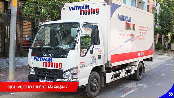 Dịch vụ cho thuê xe tải quận 7 Uy Tín Chất Lượng