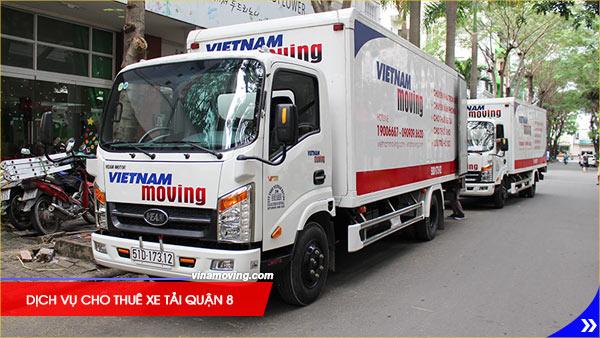 Dịch vụ cho thuê xe tải quận 8 giá rẻ cạnh tranh