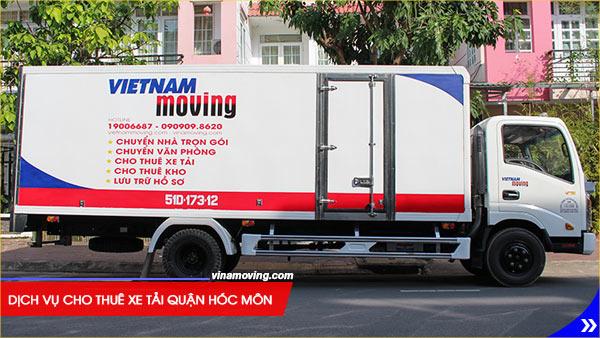 Dịch vụ cho thuê xe tải quận Hóc Môn giá rẻ - Uy tín chất lượng