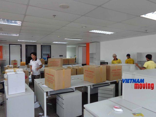 An tâm với dịch vụ chuyển văn phòng uy tín nhất tại tphcm
