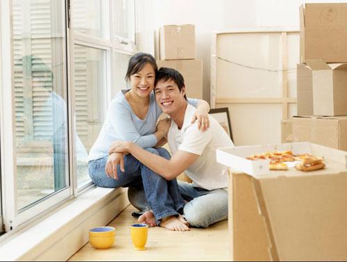 Dịch vụ chuyển nhà giá rẻ cho cặp vợ chồng mới cưới