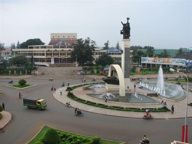 Từ Hà Nội đi Đắk Lắk bao nhiêu km?