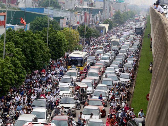 Ảnh hưởng của ách tắc giao thông đến chuyển nhà