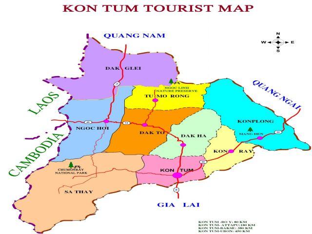 Từ TPHCM đi Kon Tum bao nhiêu km?