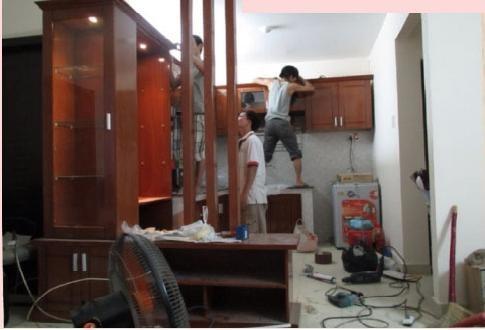 Cách tháo lắp tủ bếp khi chuyển nhà không khó như bạn nghĩ