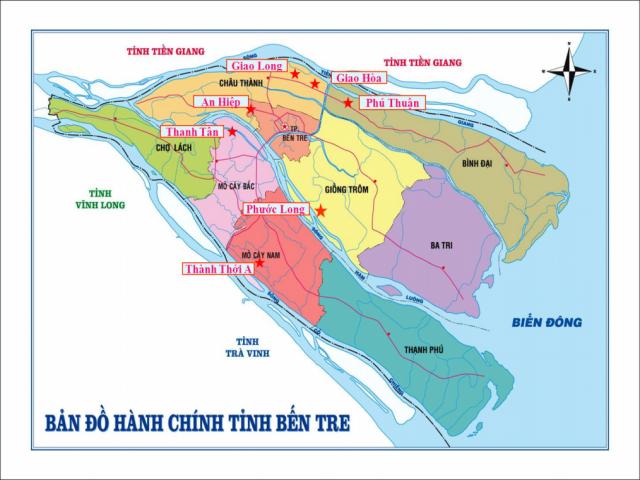 Từ TPHCM đi Bến Tre bao nhiêu km?