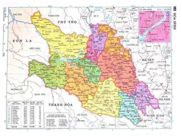 Từ TPHCM đi Hòa Bình bao nhiêu km?