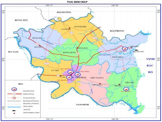 Từ TPHCM đi Thái Bình bao nhiêu km?