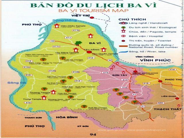 Từ Hà Nội đi Ao Vua bao nhiêu km?