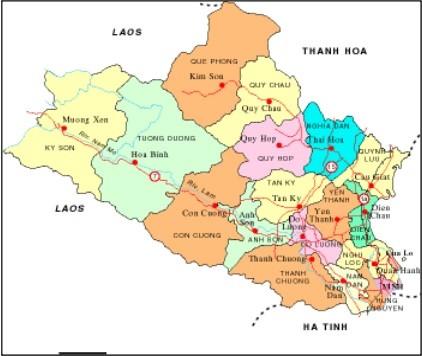 Từ Hà Nội đi Nghệ An bao nhiêu Km?